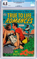 Golden Age (1938-1955):Romance, True-To-Life Romances #18 (Star Publications, 1953) CGC VG+ 4.5Cream to off-white pages....