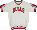 Basketball Collectibles:Uniforms, Mid 1980's Jawann Oldham Game Worn Chicago Bulls Shooting Shirt....
