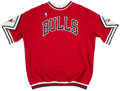 Basketball Collectibles:Uniforms, 1990-91 Scott Williams Game Worn Chicago Bulls Shooting Shirt....