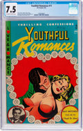 Golden Age (1938-1955):Romance, Youthful Romances #11 (Pix Parade, 1952) CGC VF- 7.5 Off-white towhite pages....