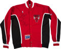 Basketball Collectibles:Uniforms, 1991-92 Craig Hodges Signed Game Worn Warmup Uniform with PlayerLetter. . ...