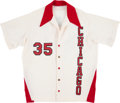 """Basketball Collectibles:Uniforms, 1980-82 Larry """"Special K"""" Kenon Chicago Bulls Game Worn WarmupJacket. . ..."""