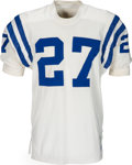 Football Collectibles:Uniforms, 1970-71 Ray Perkins Game Worn Baltimore Colts Jersey....