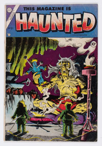 This Magazine Is Haunted #21 (Charlton, 1954) Condition: VG-