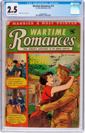 Golden Age (1938-1955):Romance, Wartime Romances #12 (St. John, 1952) CGC GD+ 2.5 Cream tooff-white pages....