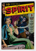 Golden Age (1938-1955):Crime, The Spirit #21 (Quality, 1950) Condition: VG....