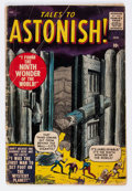 Silver Age (1956-1969):Horror, Tales to Astonish #1 (Marvel, 1959) Condition: GD....