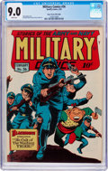 Golden Age (1938-1955):War, Military Comics #36 Mile High Pedigree (Quality, 1945) CGC VF/NM9.0 White pages....
