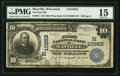 National Bank Notes:Wisconsin, Mayville, WI - $10 1902 Plain Back Fr. 631 The First NB Ch. # (M)10653. ...