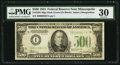 Small Size:Federal Reserve Notes, Fr. 2201-I $500 1934 Federal Reserve Note. PMG Very Fine 30.. ...
