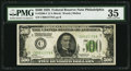 Fr. 2200-C $500 1928 Federal Reserve Note. PMG Choice Very Fine 35