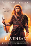 "Movie Posters:Action, Braveheart (Paramount, 1995). One Sheet (27"" X 40"") DS Advance. Action.. ..."