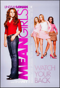 """Mean Girls & Other Lot (Paramount, 2004). One Sheets (2) (27"""" X 40"""", 27"""" X 41"""") DS. Drama..."""
