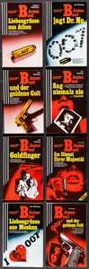 "Movie Posters:James Bond, James Bond Book Lot (Glidrose, 1957-1994). German Paperback Books(49) (Multiple Pages, approx. 4.5"" X 7""). James Bond.. ... (Total:49 Items)"
