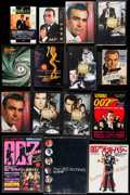 Movie Posters:James Bond, James Bond Book Lot (Various, 1960s-2008). Japanese Paperback Books (28) & Japanese Hardcover Books (2) (Multiple Pages, 4.2... (Total: 30 Items)