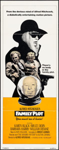 "Movie Posters:Hitchcock, Family Plot (Universal, 1976). International Insert (14"" X 36"").Hitchcock.. ..."