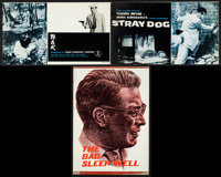 """Stray Dog & Other Lot (Toho, R-1950s). Japanese Programs (2) (Multiple Pages, 10"""" X 6"""" & 7.25&..."""