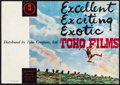 "Movie Posters:Foreign, Toho Studio Export Exhibitor Book (Toho, 1953). Exhibitor Book (50 Pages, 10"" X 14.5""). Foreign.. ..."
