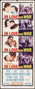"""Movie Posters:War, In Love and War & Other Lot (20th Century Fox, 1958). Insert(14"""" X 36"""") & Half Sheet (22"""" X 28""""). War.. ... (Total: 2Items)"""