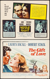 """The Gift of Love & Others Lot (20th Century Fox, 1958). Half Sheets (4) (22"""" X 28""""). Drama. ... (Total..."""
