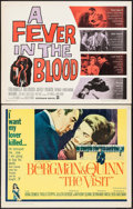 """Movie Posters:Drama, The Visit & Others Lot (20th Century Fox, 1964). Half Sheets (4) (22"""" X 28""""). Drama.. ... (Total: 4 Items)"""