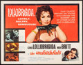 "Movie Posters:Foreign, The Unfaithfuls (Allied Artists, 1960). Half Sheet (22"" X 28""). Foreign.. ..."