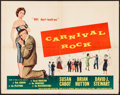 "Movie Posters:Rock and Roll, Carnival Rock (Howco, 1957). Folded, Fine/Very Fine. Half Sheet (22"" X 28""). Rock and Roll.. ..."