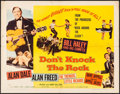 "Movie Posters:Rock and Roll, Don't Knock the Rock (Columbia, 1957). Half Sheet (22"" X 28""). Rockand Roll.. ..."