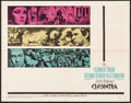 "Movie Posters:Drama, Cleopatra (20th Century Fox, 1963). Folded, Very Fine-. Half Sheet (22"" X 28""). Drama.. ..."