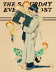 Norman Rockwell (American, 1894-1978) The Census Taker, The Saturday Evening Post cover study, 1940 Oil on board 16-1...