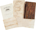 Miscellaneous:Maps, Journal and Letters of Charles Briggs, Midshipman on the U...