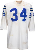 Football Collectibles:Uniforms, 1971 Tom Nowatzke Game Worn & Signed Super Bowl V Jersey - Photo Matched!. ...