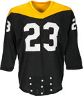 Football Collectibles:Uniforms, 1966-67 Jim Butler Game Worn Pittsburgh Steelers Jersey - With Team COA!...