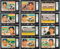 Baseball Cards:Lots, 1956 Topps Baseball Collection With Stars (875+). ...