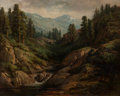Paintings, William Franklin Jackson (American, 1850-1936). Soda Springs . Oil on canvas . 15-1/2 x 19-1/2 inches (39.4 x 49.5 cm). ...
