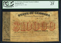 Obsoletes By State:Georgia, Milledgeville, GA- State of Georgia $10,000 July 27, 1864 Cr. TC10. ...