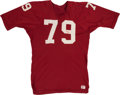 Football Collectibles:Uniforms, 1967-68 Chuck Walker Signed Game Worn St. Louis Cardinals Jersey. ...