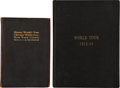 Baseball Collectibles:Others, 1913-14 Baseball World Tour Hardcover Books Lot of 2.. ...