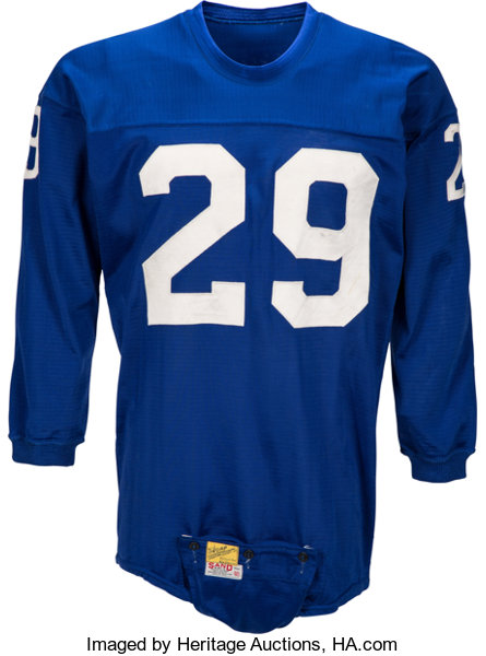 best service 9cda7 757ab Mid to Late 1950's Alex Webster Game Worn New York Giants ...