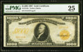 Large Size:Gold Certificates, Fr. 1219e $1,000 1907 Gold Certificate PMG Very Fine 25.. ...