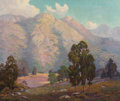 Paintings, Peter Lanz Hohnstedt (American, 1872-1957). Summer View. Oil on canvas. 24-1/2 x 29-1/2 inches (62.2 x 74.9 cm). Signed ...