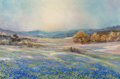 Paintings, Robert William Wood (American, 1889-1979). Texas Springtime. Oil on canvas. 20 x 30 inches (50.8 x 76.2 cm). Signed lowe...