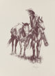 Tom Lea (American, 1907-2001) On the Trail Lithograph on paper 11-1/2 x 8-1/2 inches (29.2 x 21.6 cm) (sheet) Signed