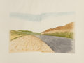 Fine Art - Work on Paper:Print, Skinner (20th Century). To Cumbria. Etching in colors on paper. 14-3/4 x 21 inches (37.5 x 53.3 cm) (image). 22-1/2 x 27...