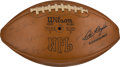 Football Collectibles:Balls, 1975 Green Bay Packers Team Signed Football....
