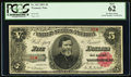 Fr. 362 Serial Number One Courtesy Autographed $5 1891 Treasury Note PCGS New 62