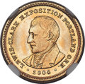 Commemorative Gold, 1904 G$1 Lewis and Clark Gold Dollar MS66 NGC....