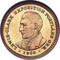 Commemorative Gold, 1905 G$1 Lewis and Clark Gold Dollar MS65 ★ NGC....