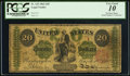 Large Size:Legal Tender Notes, Fr. 125 $20 1862 Legal Tender PCGS Very Good 10.. ...