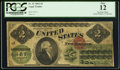 Large Size:Legal Tender Notes, Fr. 41 $2 1862 Legal Tender PCGS Fine 12.. ...